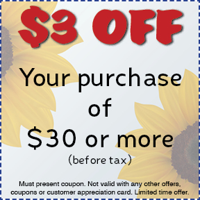 10% off purchase price coupon Gossett Brothers Nursery